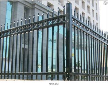 XHA-HL-5新款组合式锌钢围栏护栏东莞厂家定做批发